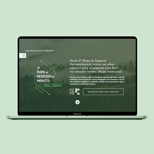 1º Mapa de Negócios de Impacto da Agenda Ambiental (2021)